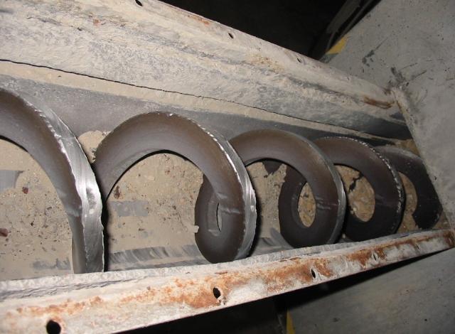 Galloo konstruktie transportschroeven assenverwerking