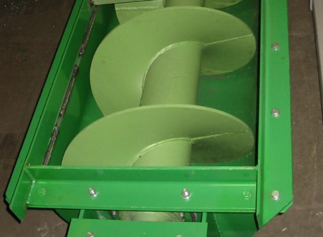 Galloo konstruktie transportschroeven industrieel afval