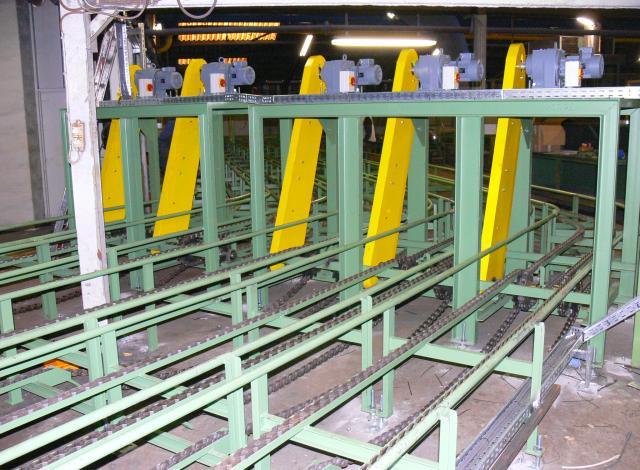 Galloo konstruktie CC600 selectie transporteurs