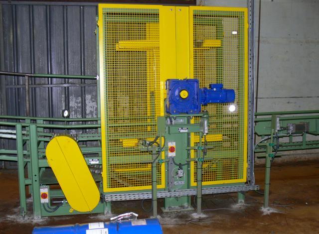 Galloo konstruktie manipulator molen vaten