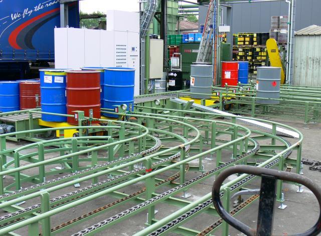 Galloo konstruktie cc600 kettingtransportbanden