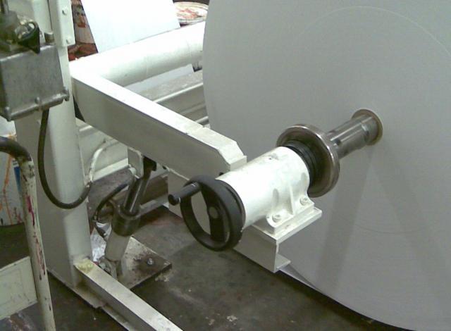 Galloo Konstruktie papierafroller