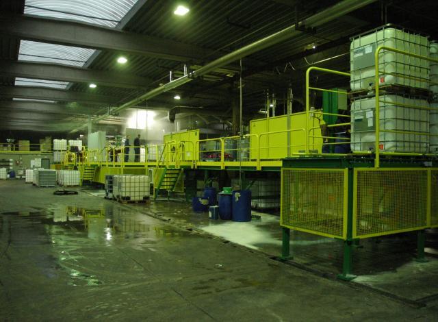 Galloo Konstruktie IBC installatie