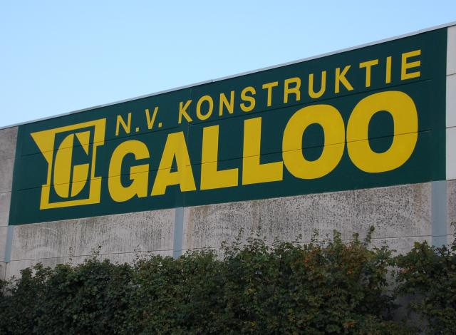 Opschrift Konstruktie Galloo
