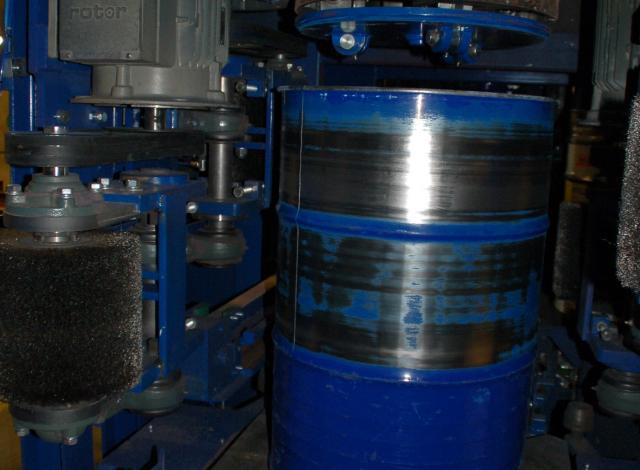 Galloo konstruktie borstelmachine delabeler
