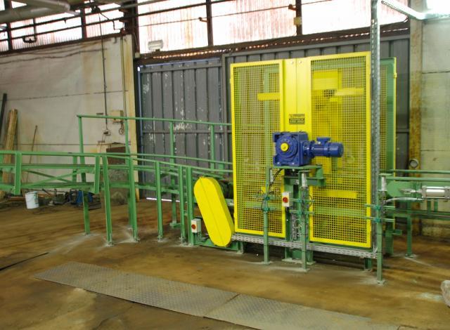 Galloo konstruktie molen manipulator vaten
