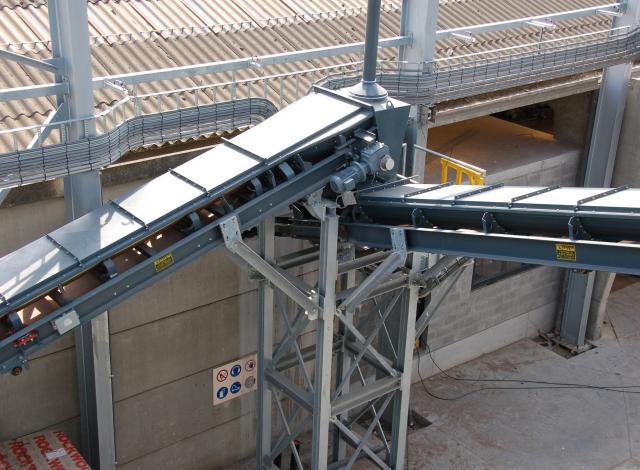 Galloo Konstruktie transportband