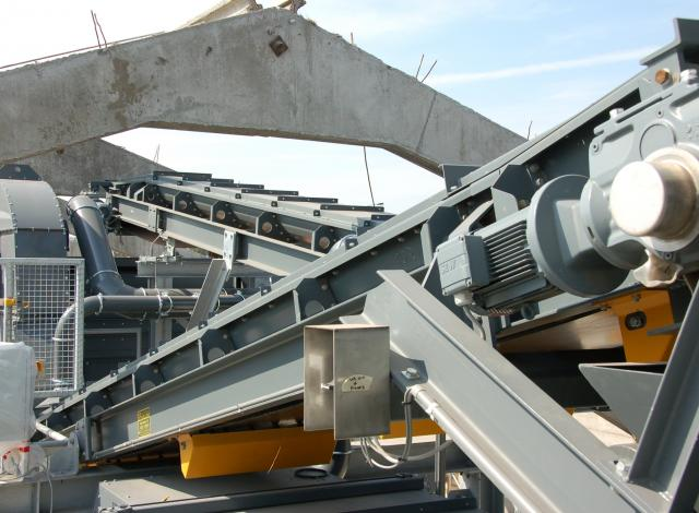 Konstruktie Galloo transportbanden