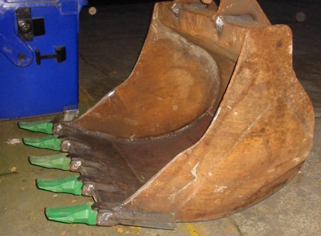 Galloo konstruktie slijstukken slijtstaal grijper