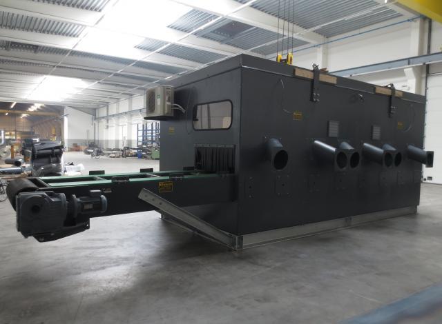 Konstruktie Galloo sorteercabine