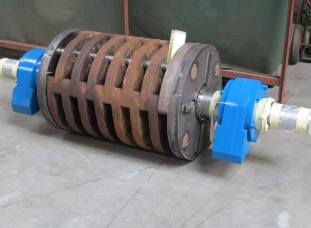 revisie herstelling rotor Eldan breker