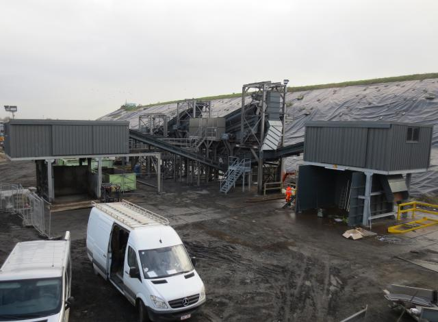 Galloo konstruktie mâchefer bodemassen staalstructuur