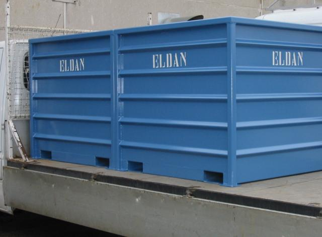 Galloo Konstruktie containers