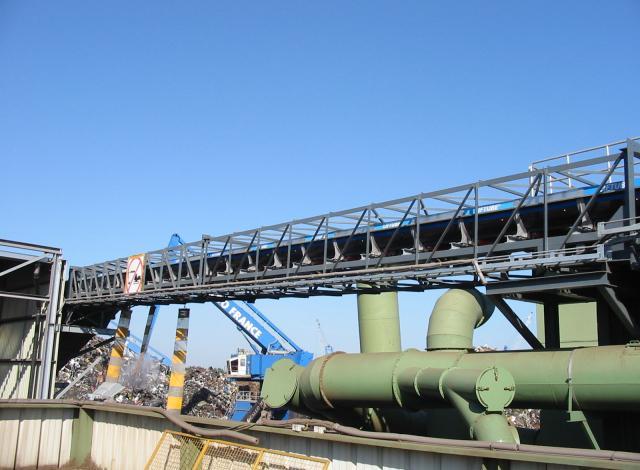 Konstruktie Galloo Transportband vakwerk