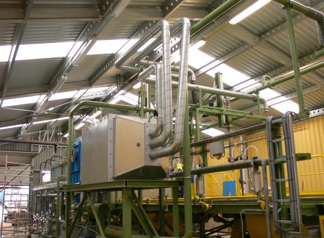 Galloo Konstruktie IBC warmtewisselaar