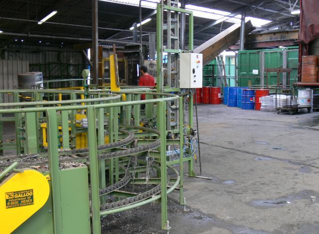Galloo konstruktie CC600 kettingtransport