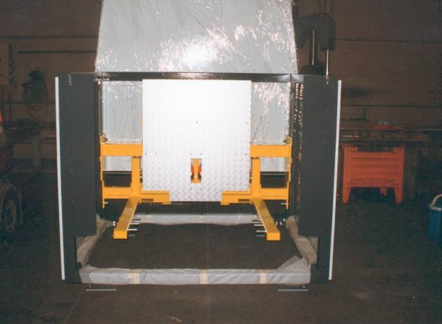 Galloo Konstruktie cartonnage palletdispenser